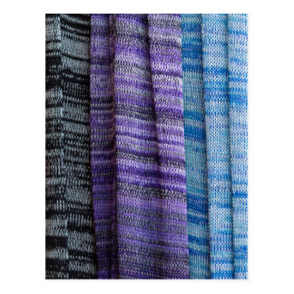 colored cloth postcard