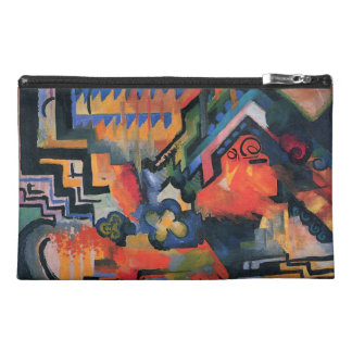 """Colored Composition"" Art accessory bags"