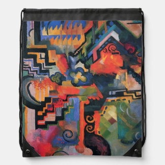 """""""Colored Composition"""" Art backpack"""