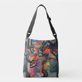 """Colored Composition"" Art bags"