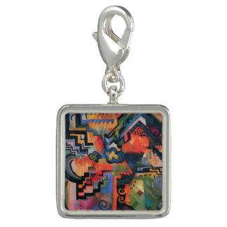 """""""Colored Composition"""" Art charm / bracelet"""