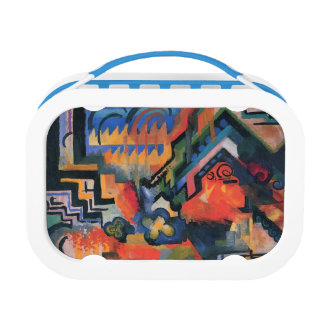 """""""Colored Composition"""" Art lunch box"""