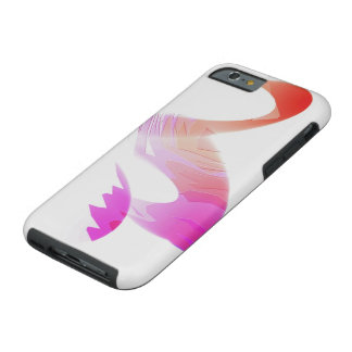 Colored Concave Silhouette Tough iPhone 6 cover Tough iPhone 6 Case