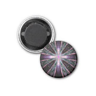 Colored Cross Fractal Magnet