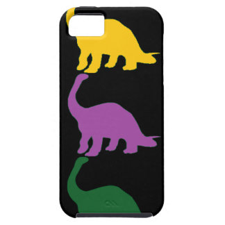 Colored Dinos iPhone 5 Covers
