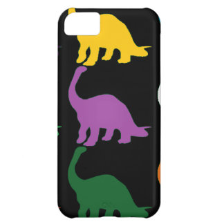 Colored Dinos iPhone 5C Cover