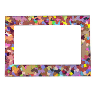 Colored Dots Magnetic Frame