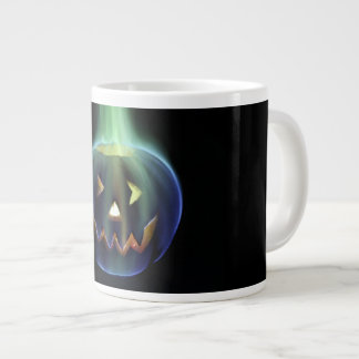 Colored Fire Halloween Jack o' Lantern Mug
