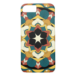 Colored Floral Mandala 060517_4 iPhone 8/7 Case