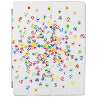 Colored Flowers iPad Smart Cover iPad Cover