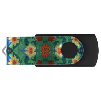 Colored Flowers USB Flash Drive