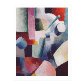 Colored Forms 1914 by August Macke Postcard