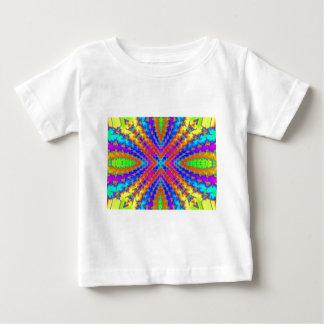 colored fractal kaleidoscope Art Baby T-Shirt