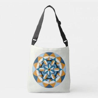 Colored Geometric Floral Mandala 060517_2 Crossbody Bag