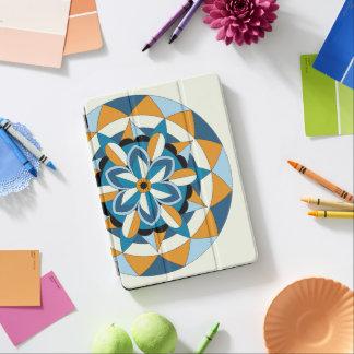 Colored Geometric Floral Mandala 060517_2 iPad Pro Cover
