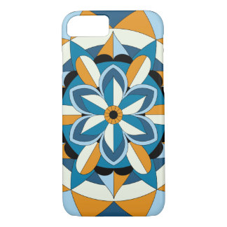 Colored Geometric Floral Mandala 060517_2 iPhone 8/7 Case