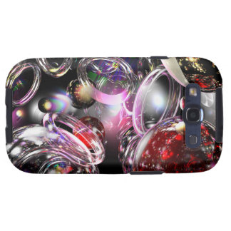 Colored Glass Samsung Galaxy SIII Cases