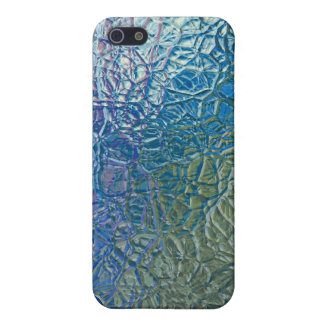 Colored glass texture, colorful shiny surface iPhone 5 cover