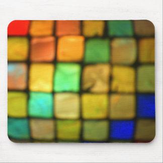 Colored Glass Tiles Mousepad