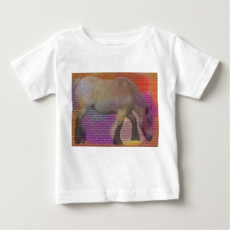 Colored Horse Baby T-Shirt