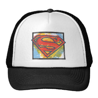 Colored in Shield Trucker Hats