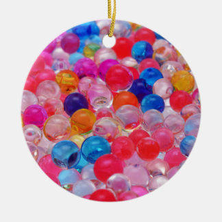 colored jelly balls texture christmas ornament