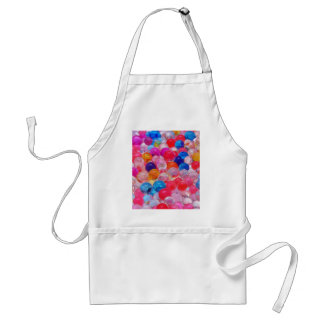 colored jelly balls texture standard apron