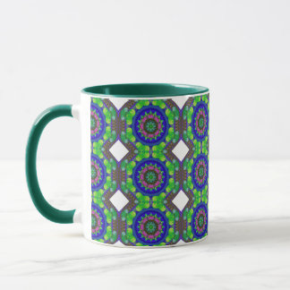 Colored Kaleidoscope Mug