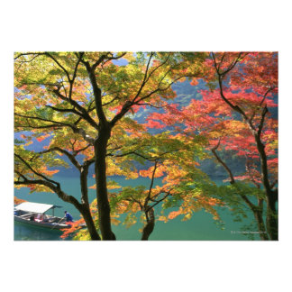 Colored Leaves Custom Invite