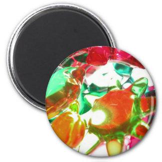 Colored Lights Fridge Magnet
