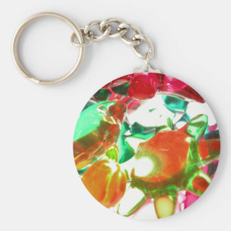Colored Lights Key Chain