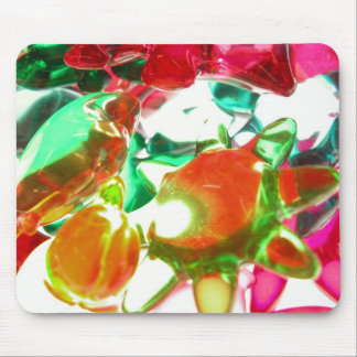 Colored Lights Mouse Mat