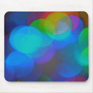 Colored Lights mousepad