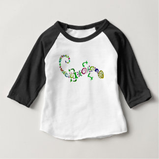 colored lizard Tribal Baby T-Shirt