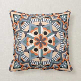 Colored Mandala 060517_3 Cushion