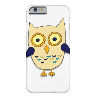 Colored owl barely there iPhone 6 case