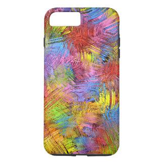 Colored Paint Splashes iPhone 7 Plus Case