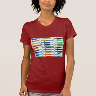 Colored Paperclips Woman's T-Shirt