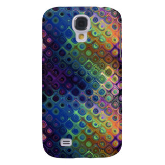Colored Peacock Art Galaxy S4 Case