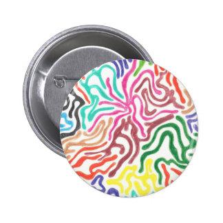 Colored Pencil Swirls Button