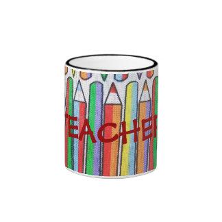 Colored Pencils Teacher s Personalized Mug