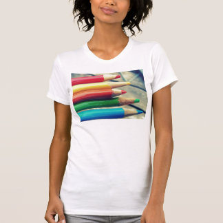 colored pencils t shirt