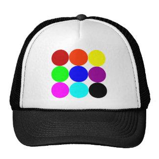 Colored Polka Dots Cap