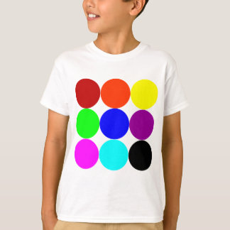 Colored Polka Dots T-Shirt