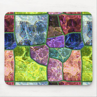 Colored Rock Mouse Mat