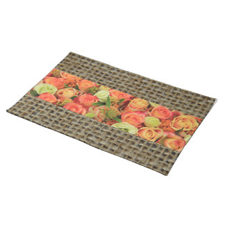 Colored roses by Therosegarden Placemat