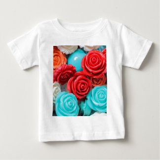 colored roses stones baby T-Shirt