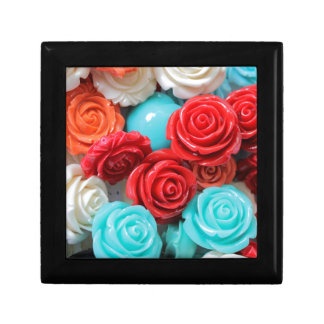 colored roses stones jewelry boxes
