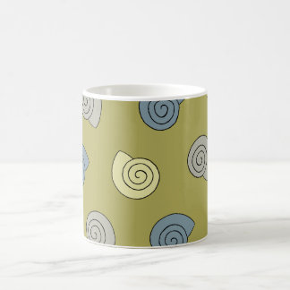 Colored shells coffee mug