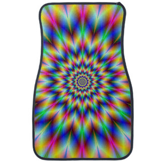 Colored Star Floor Mat